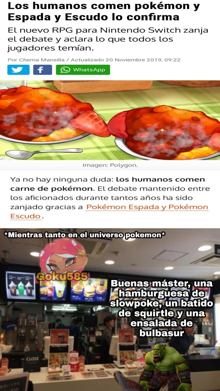 Malditos bastardos, dejen a los pokemon tranquilos >:( - meme