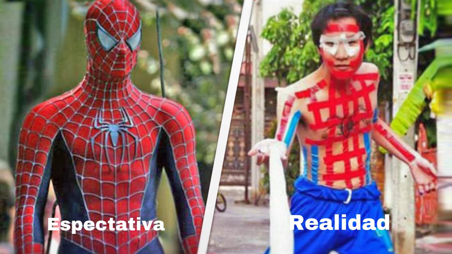 Espectativa vs Realidad - meme