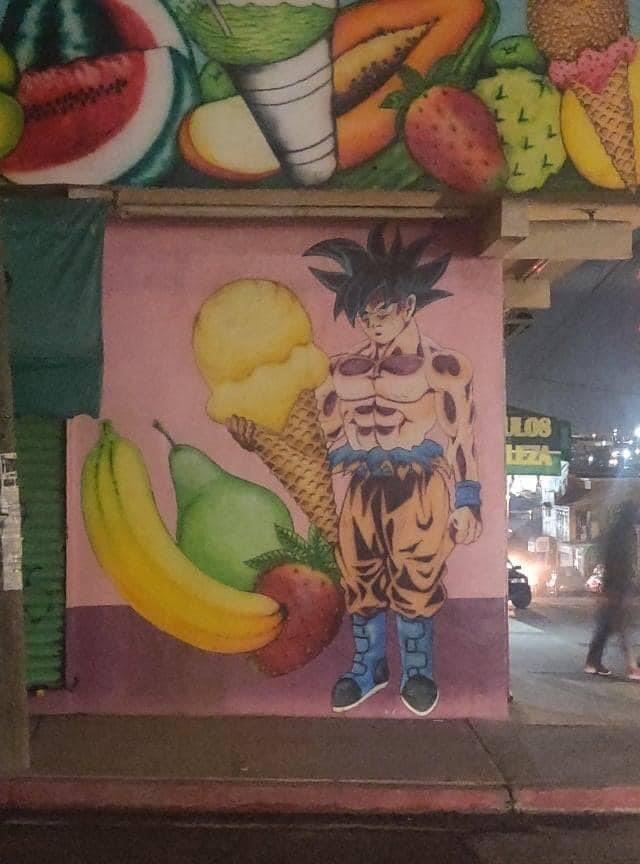 Goku le gana - meme
