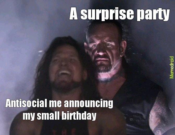 Today is mt Birthday - meme