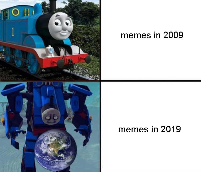 THomas transformaer - meme