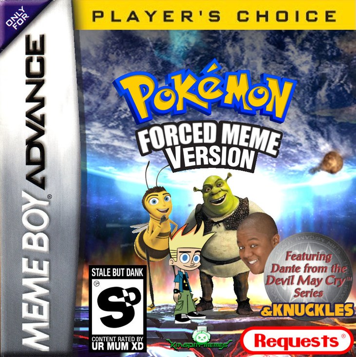 Who wants this to be a real pokemon rom hacks? - meme