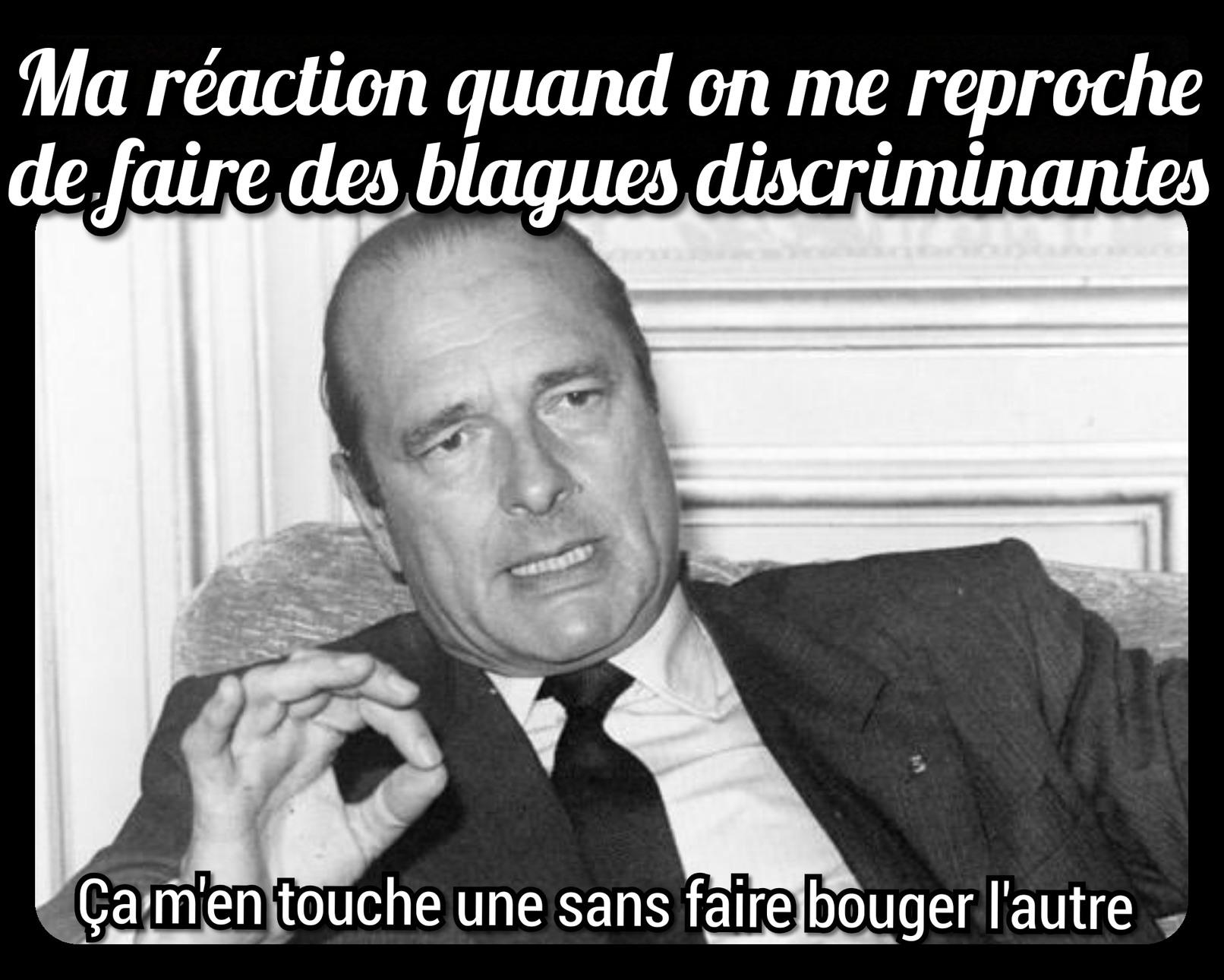 Chirac et ses métaphores délicates - meme