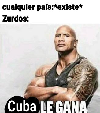 Estoy seguro que Cuba tiene un PBI de 1 dólar por mes - meme