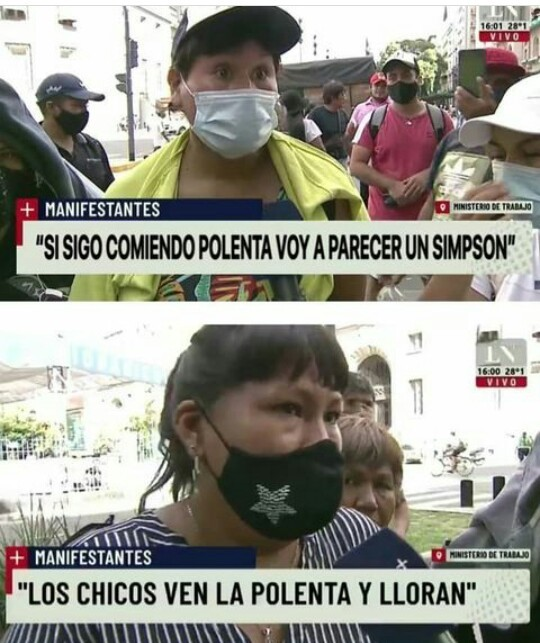 Fuertes declaraciones de los bolivianos - meme