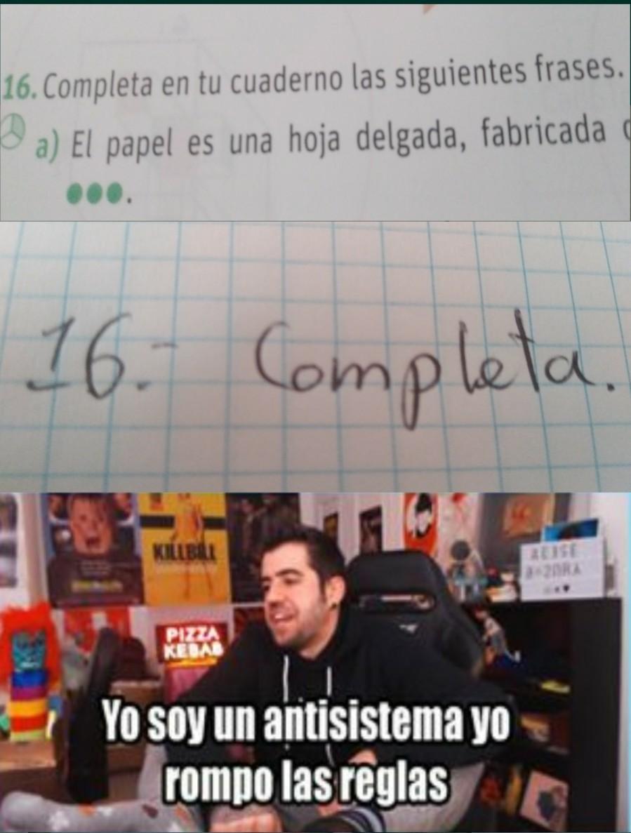 Mi letra ._€ - meme