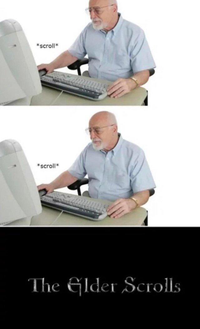 The Elder Scrolls - meme
