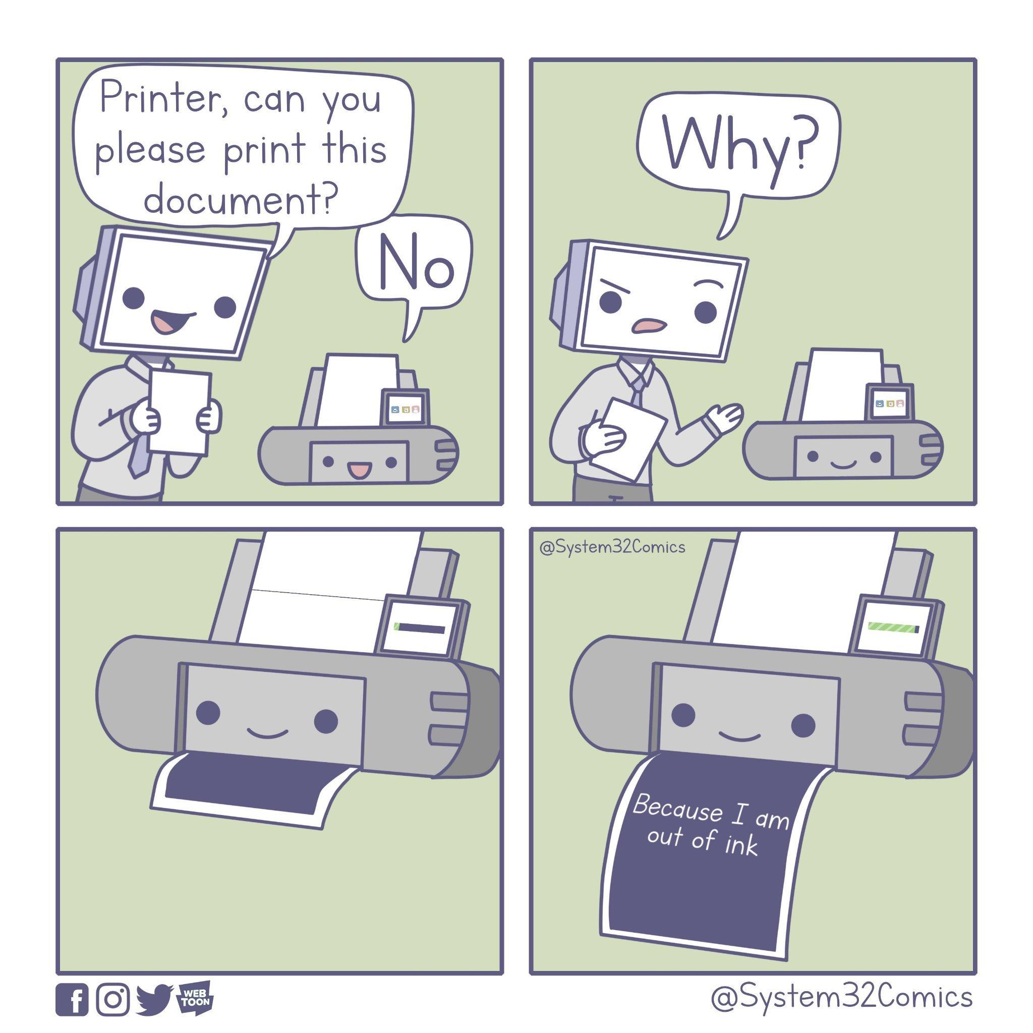 Asshole Printers - meme