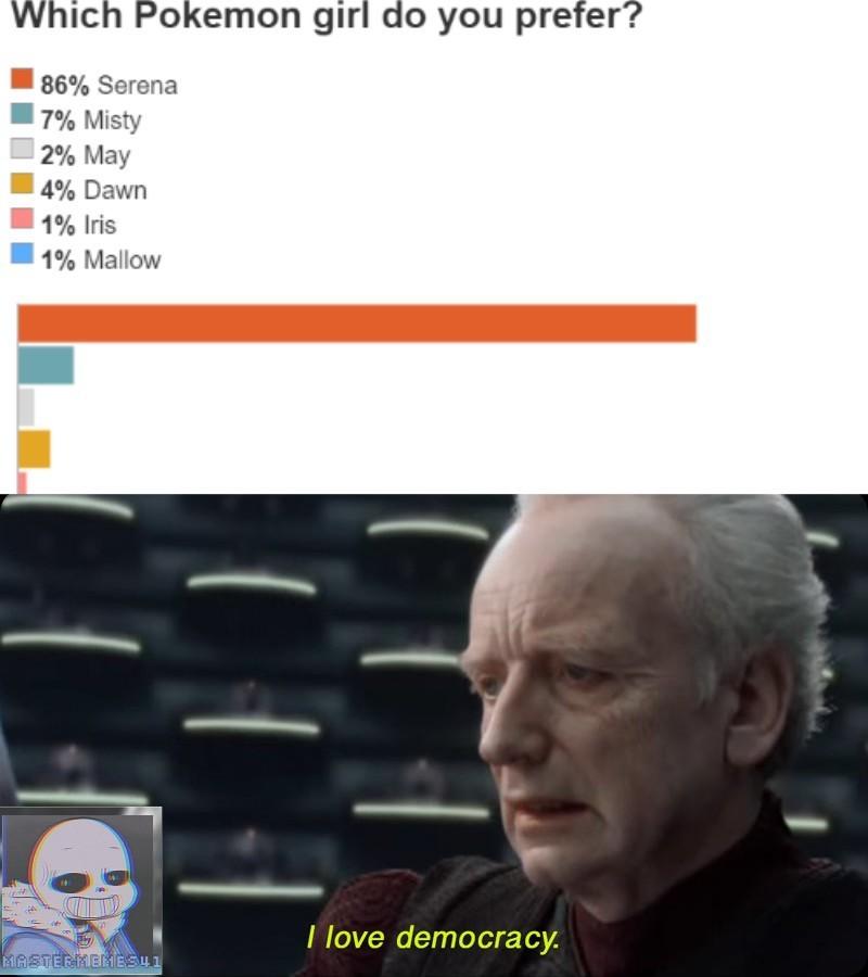 I love democracy :) - meme