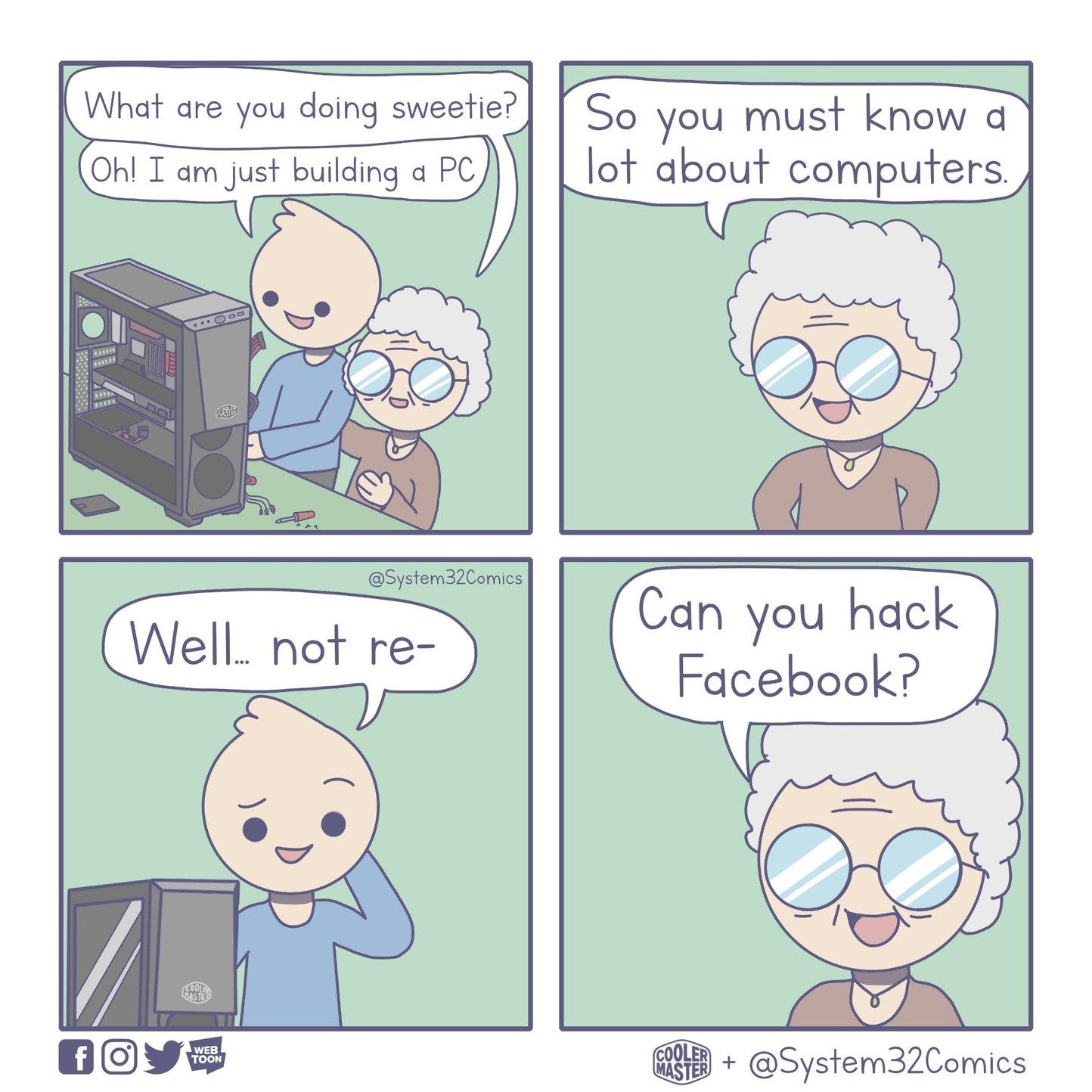 Computer Expert - meme