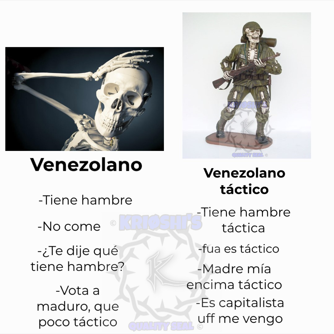 Huesitos táctico - meme