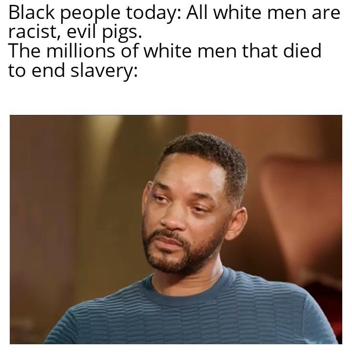 Curb your racism - meme