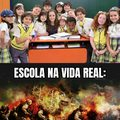 Escola na mídia vs Escola na Vida Real