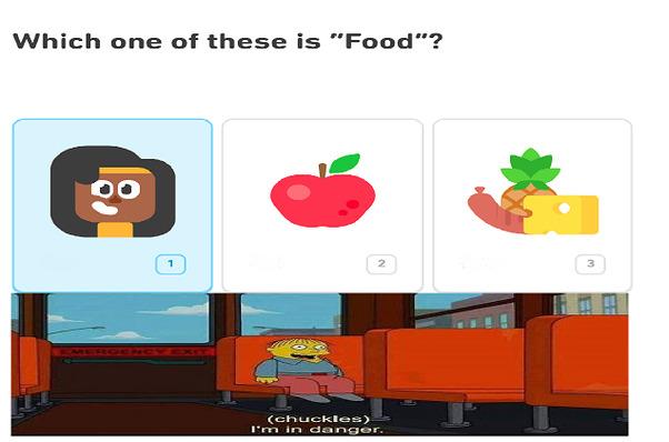 I always knew Duolingo was sus - meme