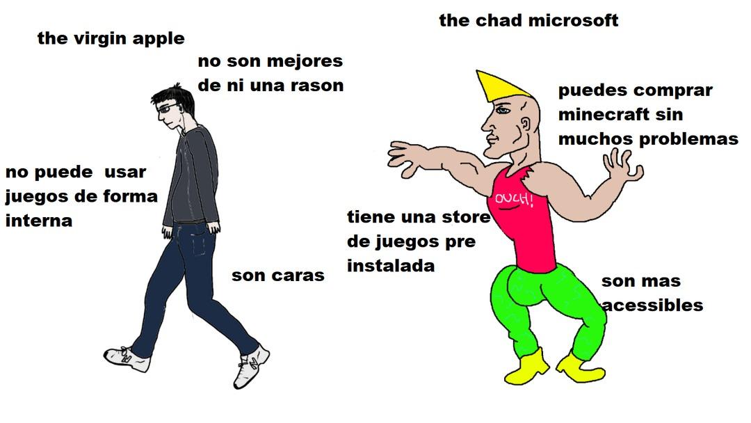 :virgin: accesible :chad: acessibles - meme
