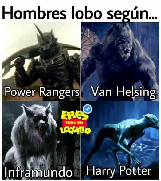 Haganle un gigachad al de van helsing y un venezuela a el de Harry popote - meme