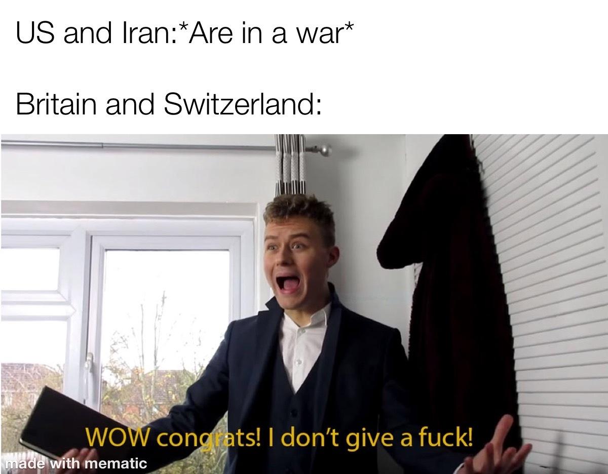 Laughs in European - meme