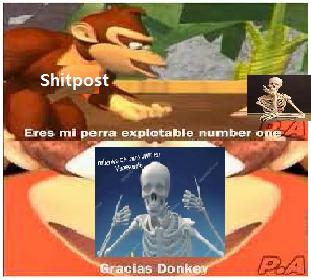 memes de gracias donkey
