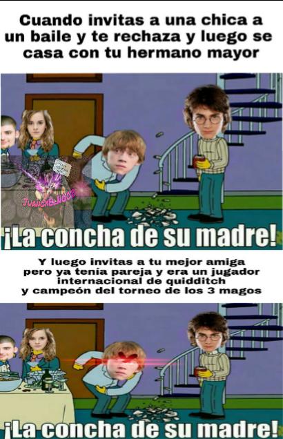 Pobre Ron :,c - meme