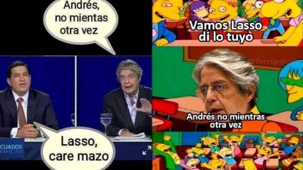 debate ecuador 2020 - meme