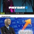 El título se fué a Steam a comprar Payday 2