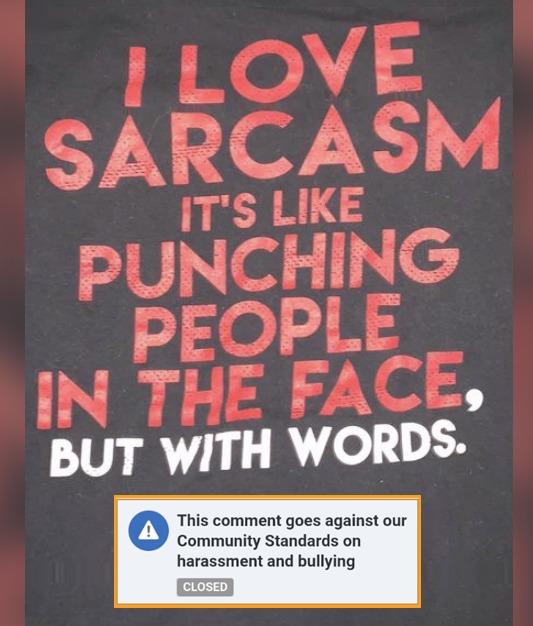 Sarcasm - meme