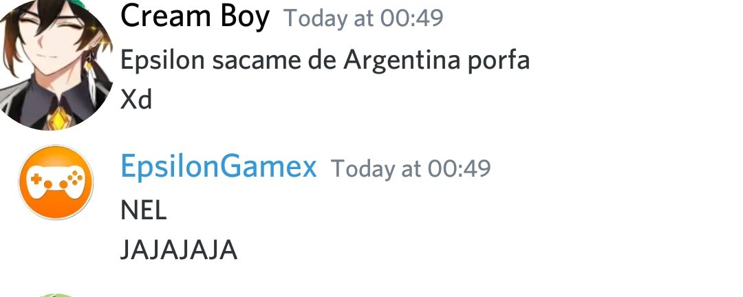 Epsilon no me sacó de Argentina :( - meme