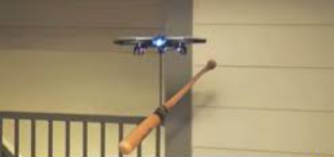 The bonk drone- custom weapon made for the AHA. - meme