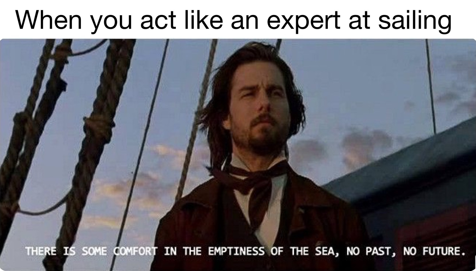 Expert at Sea - meme