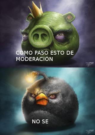 Meme malo pasa de moderación