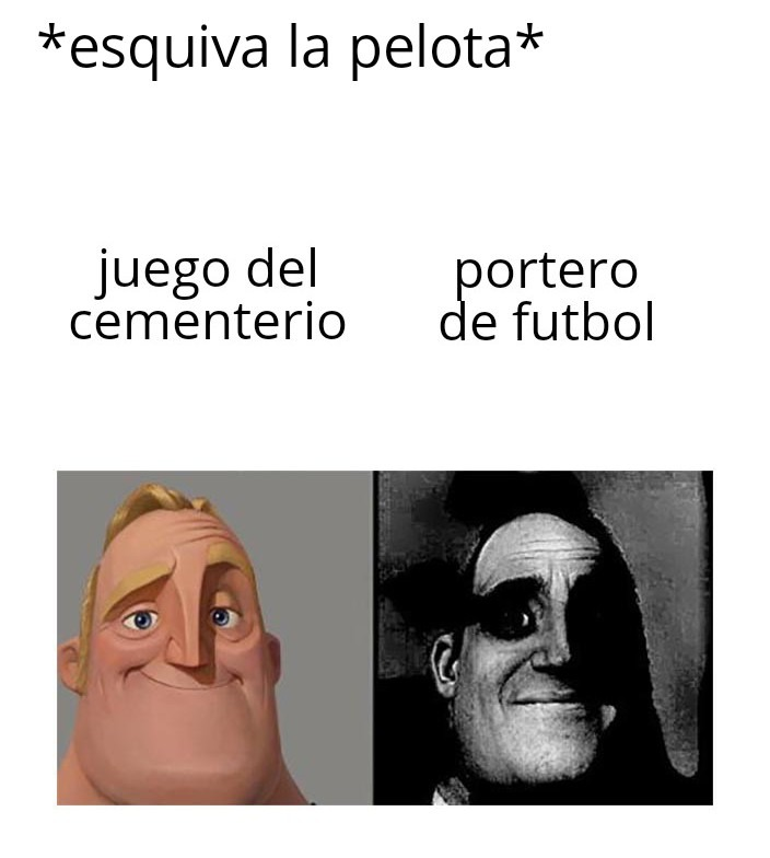 Juan, no te apartes de la pelota, eres portero y acabamos de perder!!!! :fffuuu: - meme
