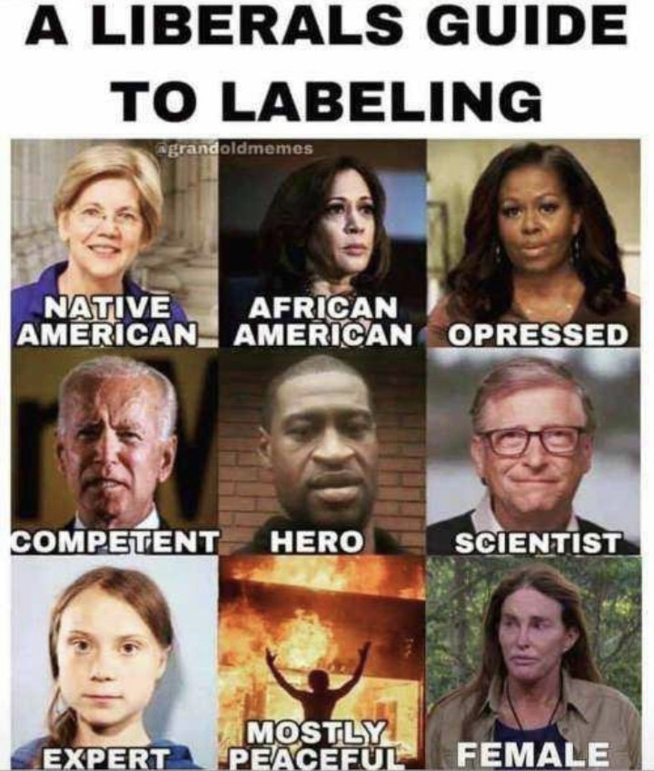 Labels - meme