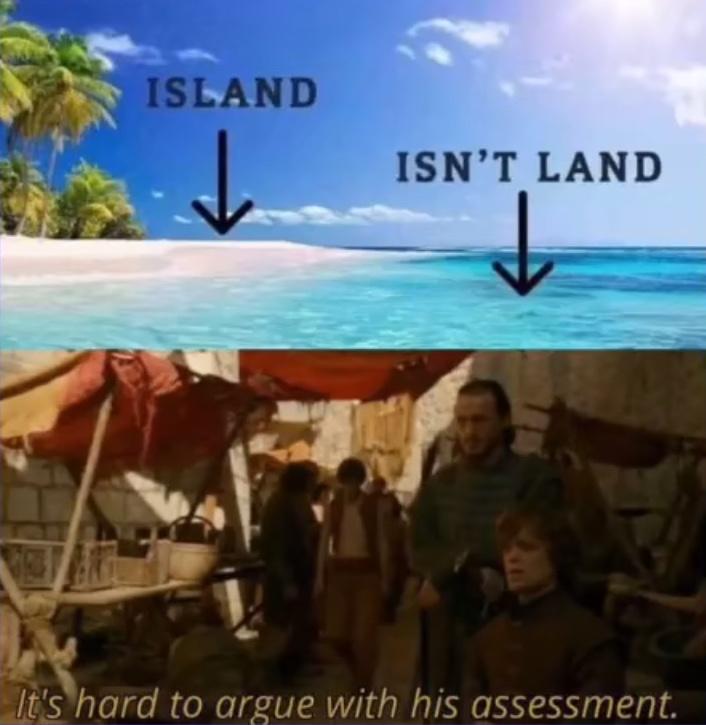land - meme