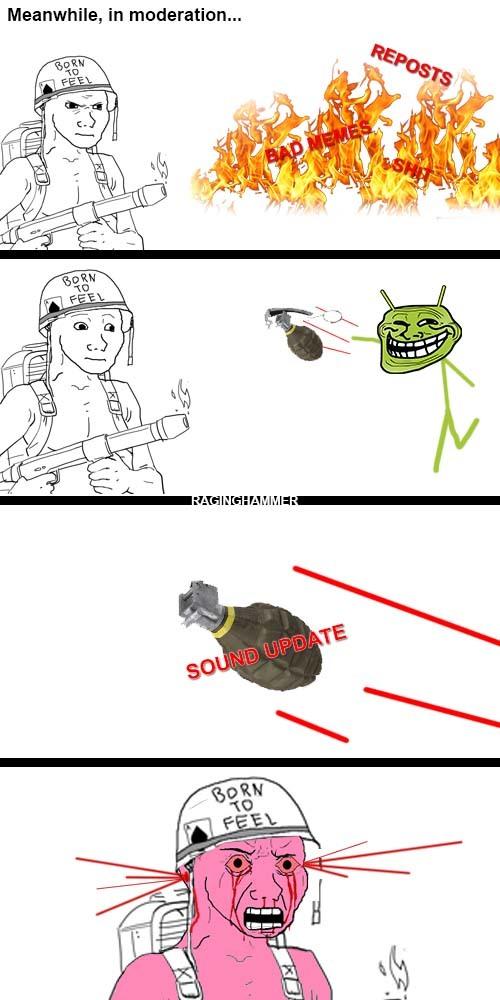don't trust the audio - meme