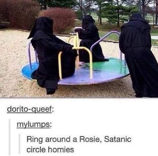 Satan Rules - meme