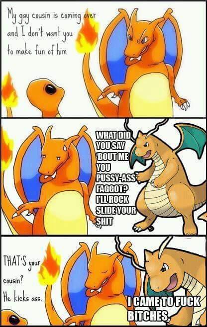 My doy dragonite knows - meme