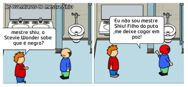 As aventuras do mestre Shiu - meme