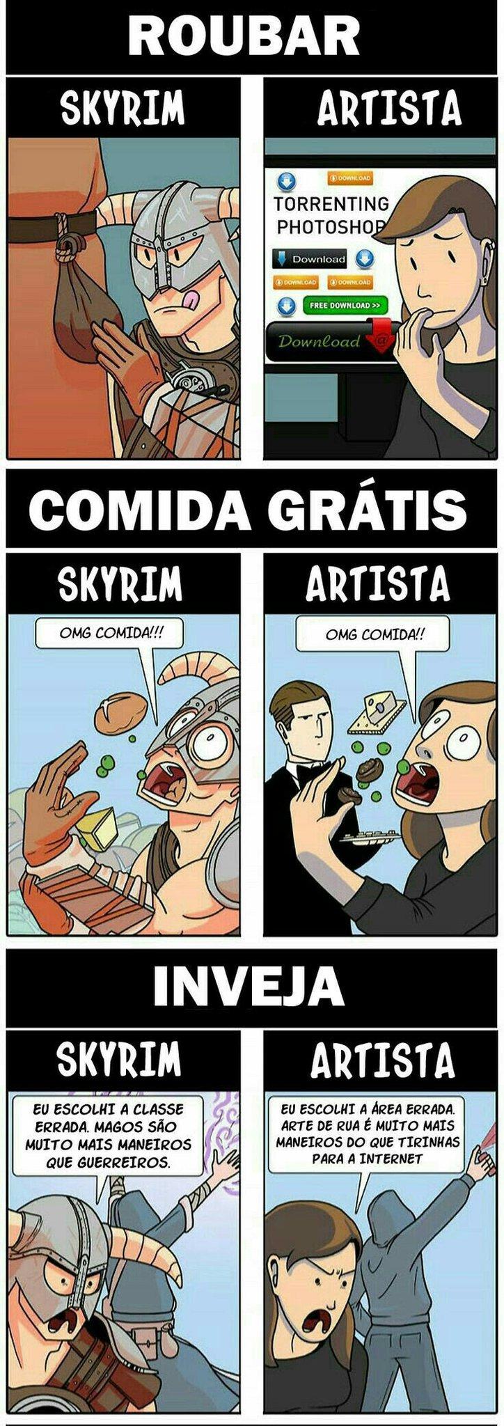Skyrym 1/2 - meme