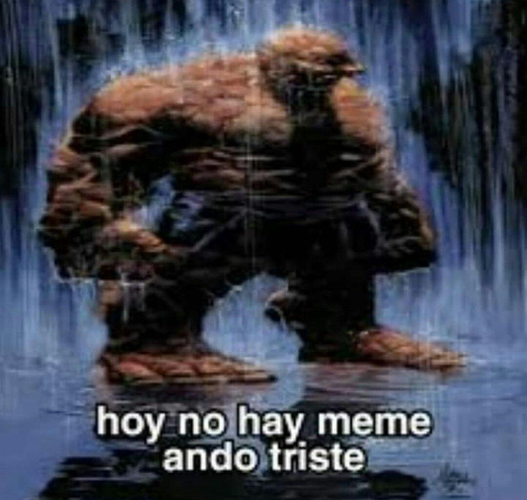 ando triste - meme