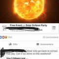 Reschedule the sun