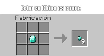 Echo en China es como - meme