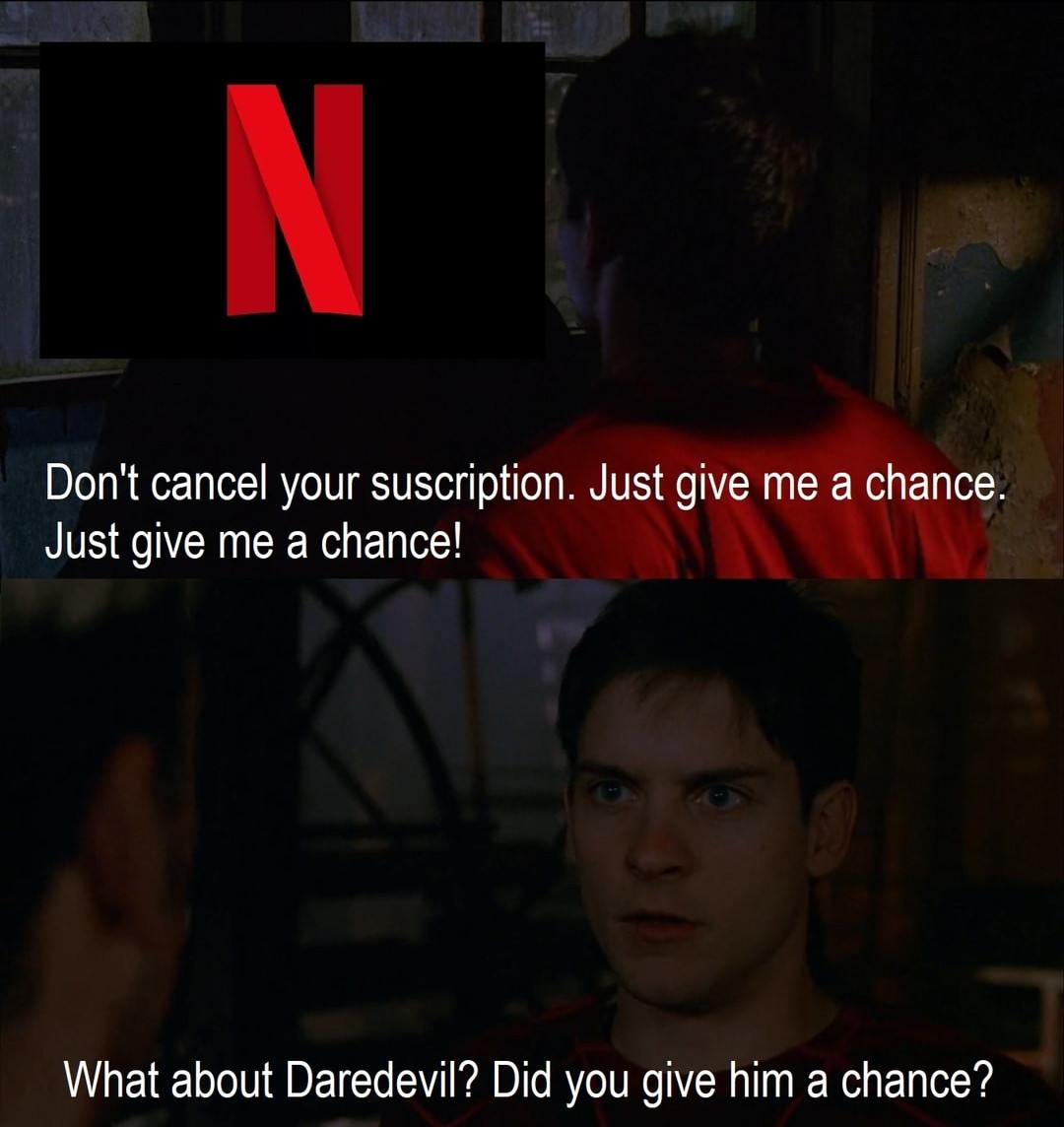 Netflix is sucking more ass each day - meme