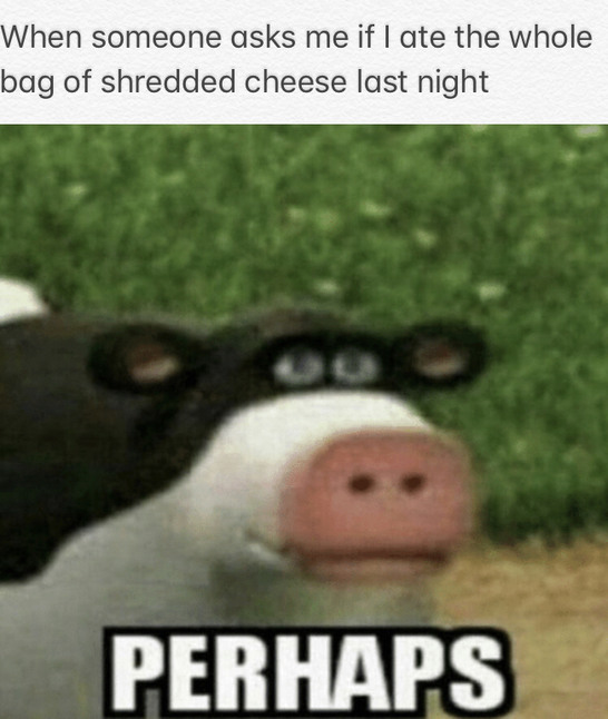 Shredded Cheese - meme