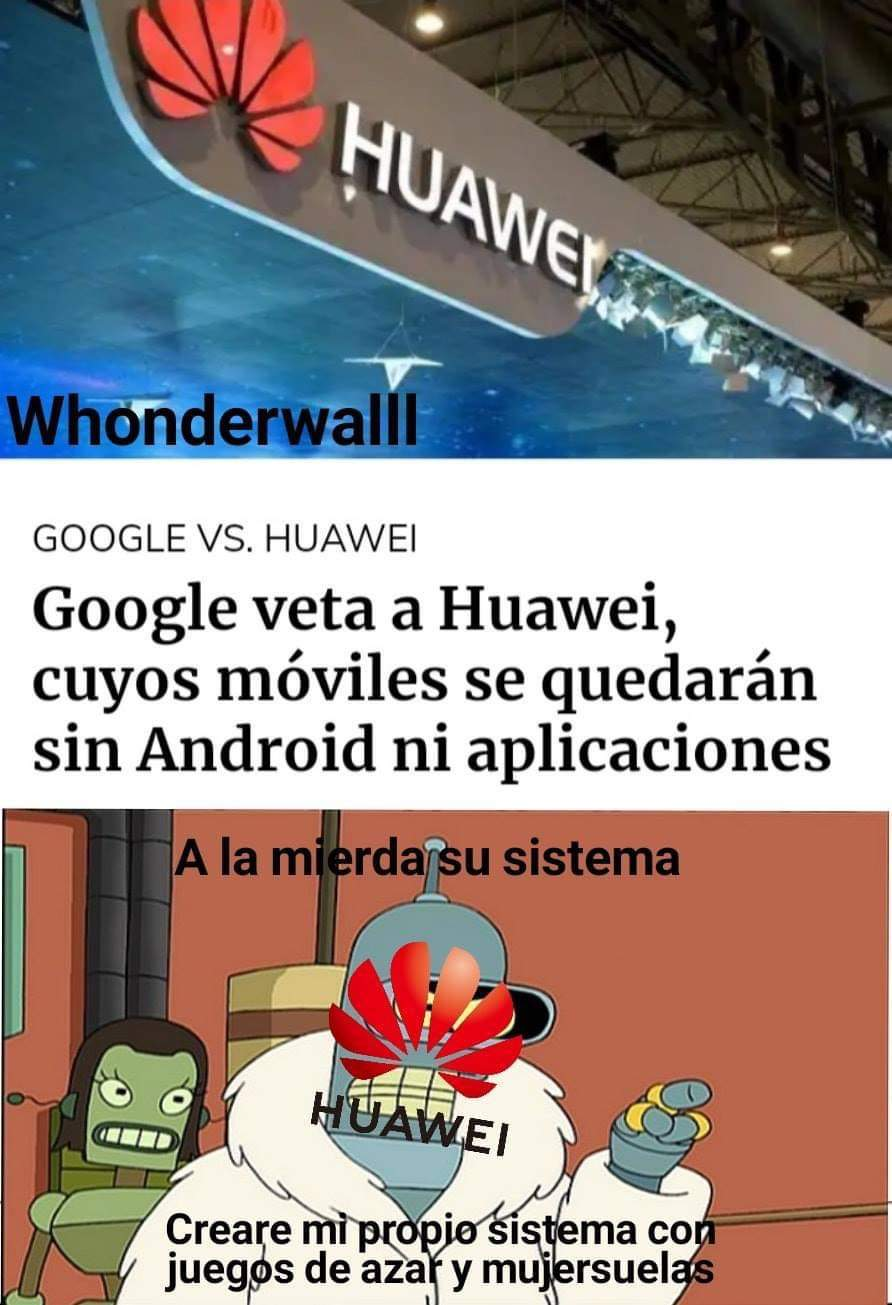 Huawei si Android - meme