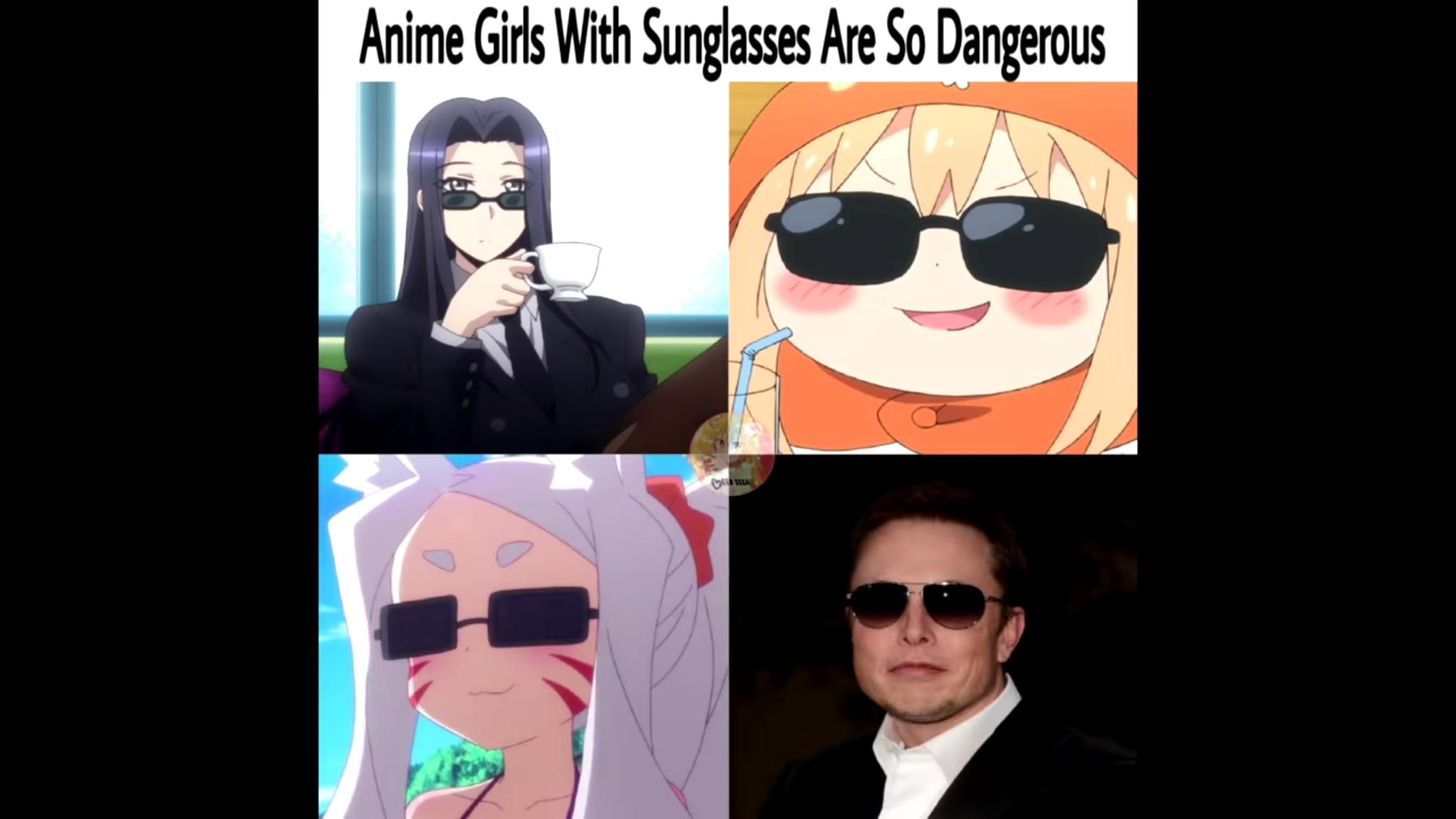 ANIME GIRLS - meme