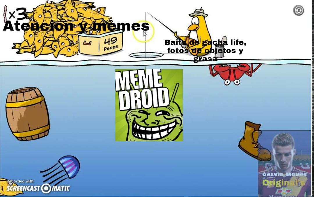 Baits para la gente que no entiende del tema - meme