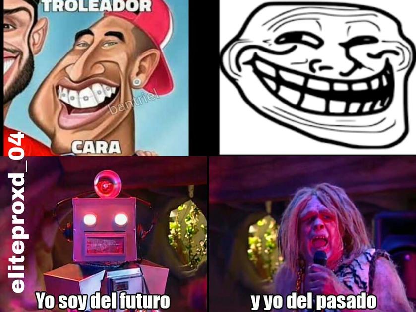 Troleador cara vs troll face cual eliges - meme