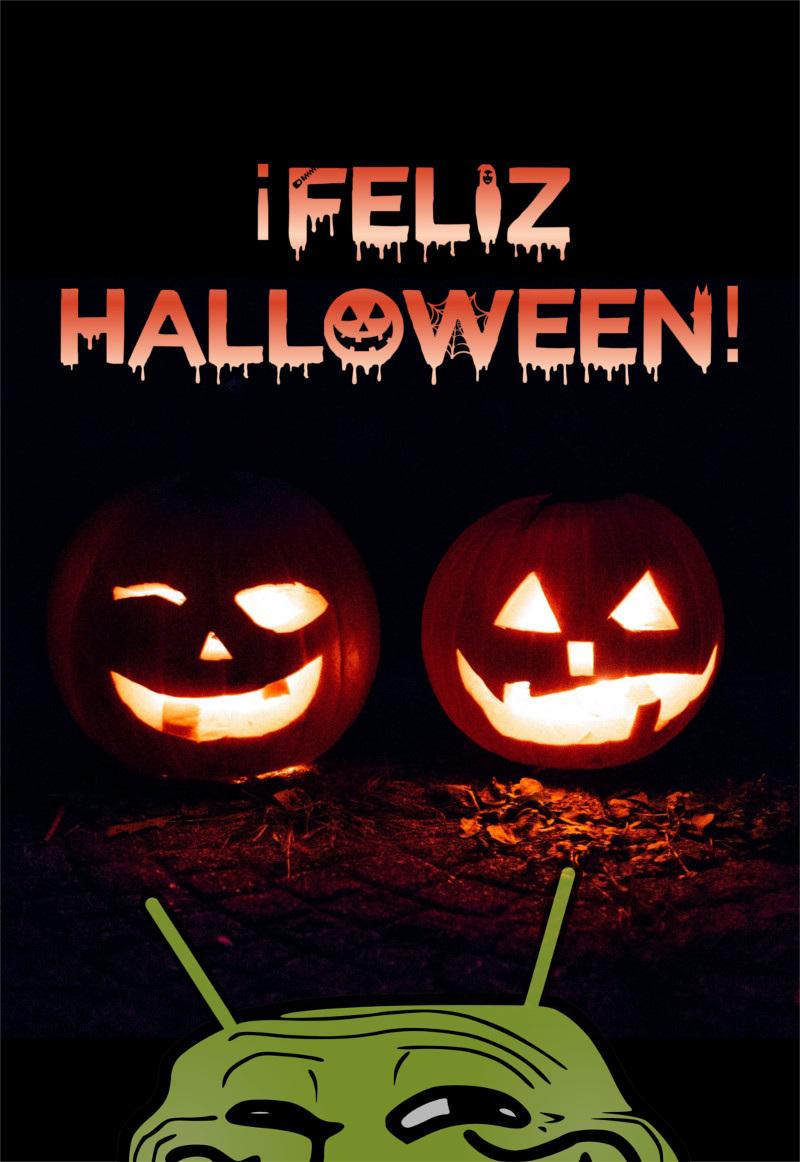 ¡Feliz Halloween! - meme