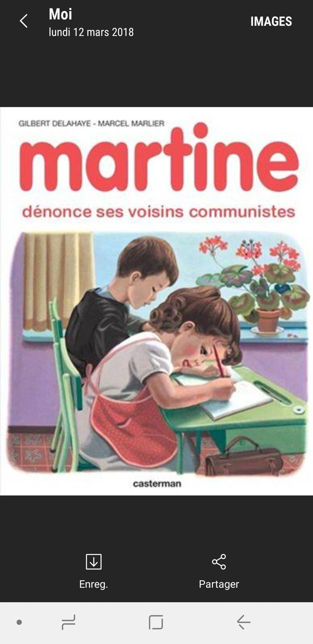 Belle mentalité Martine ! - meme