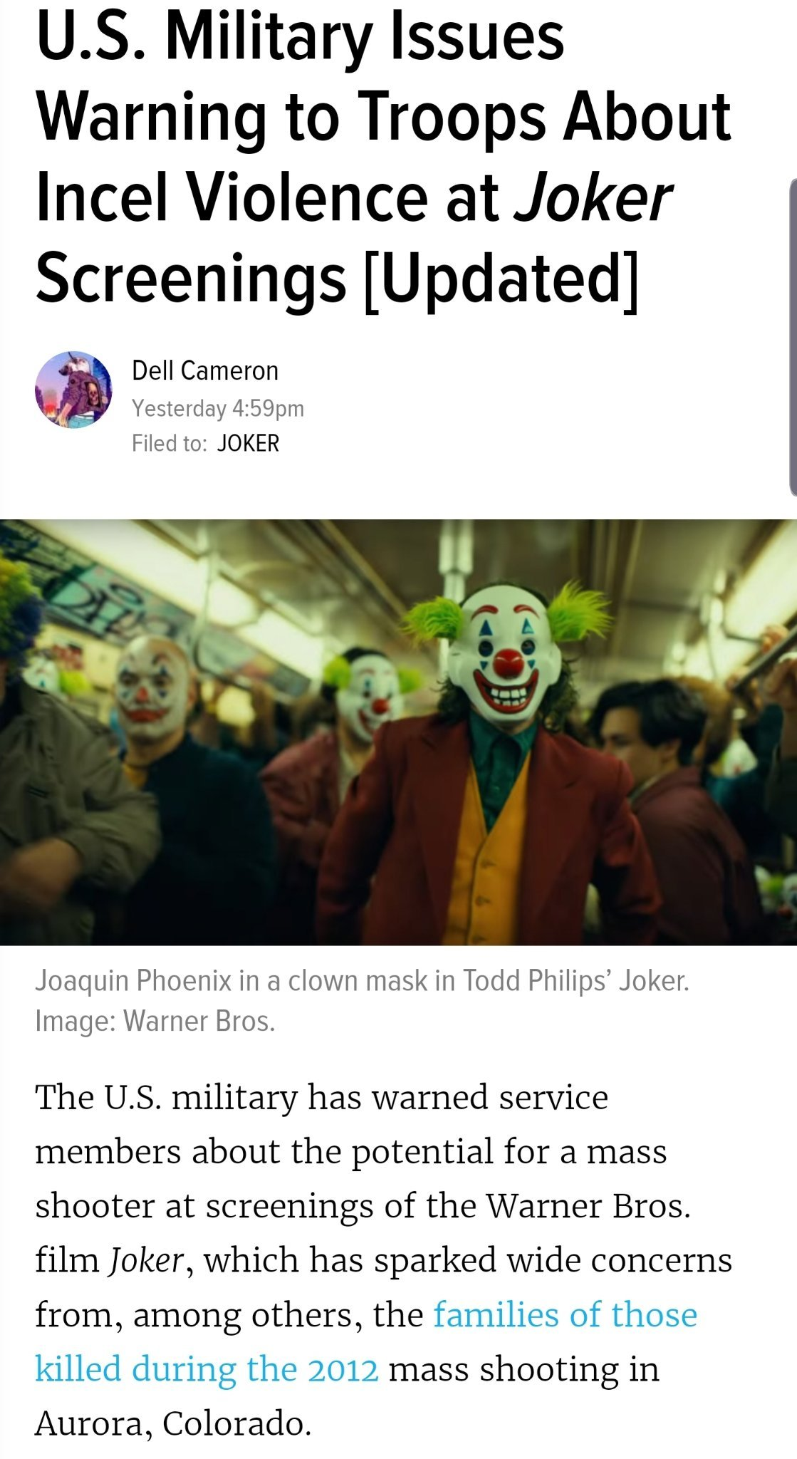 Literal clown world - meme